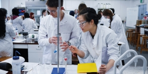 Tomorrow's chemists benefit from collaboration