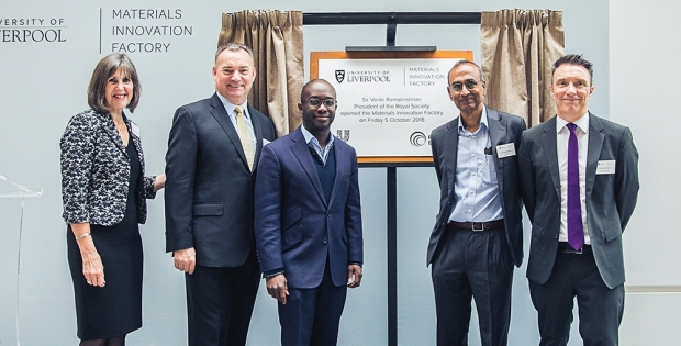 £81m Materials Innovation Factory to develop new products to meet society's biggest challenges officially opened