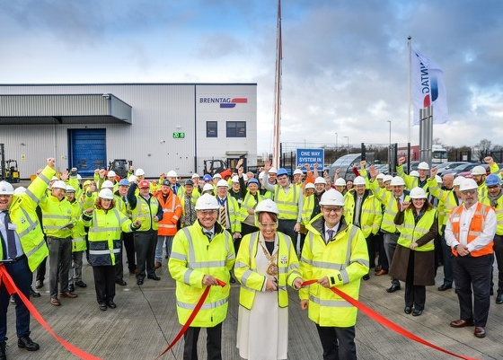 Brenntag UK and Ireland opens the new site in the Turbine Business Park
